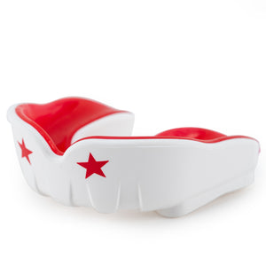 Muay Thai Boxing Mouth Guard White/Red