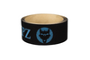 Black Bat Grip Tape with Baby Blue VukGripz logo