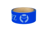 Blue hockey stick tape with blue VukGripz logos