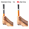 Extra Long Yellow Bat Grip Tape XL vs Standard Grip