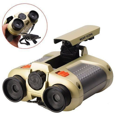 Toy Binocular with Pop-Up Light