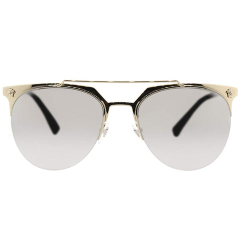 Versace Gold/Silver Metal Sunglasses