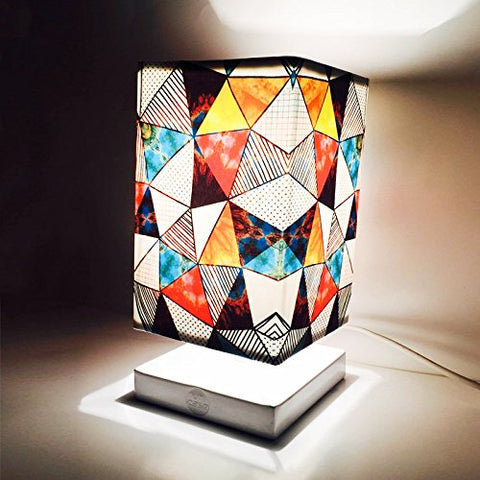 Multicolour Designer Trendy Table Lamp