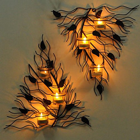 Wall Decor Tealight Candles Holder