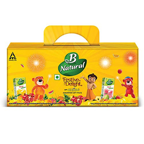 B Natural Juice Festive Delight Assorted Kids Pack