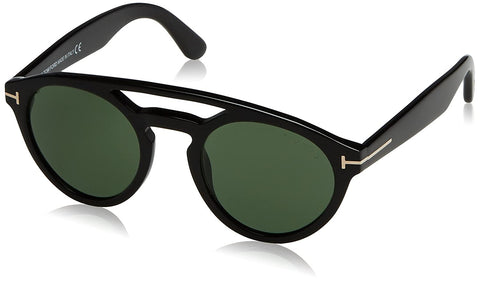 Tom Ford Black Clint Round Sunglasses