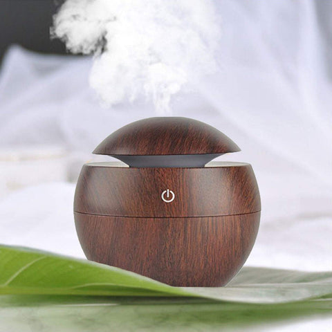 Wooden Cool Mist Humidifier Essential Oil Diffuser