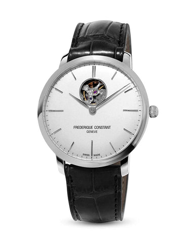 Frederique Constant Analog Silver Dial Men's Watch