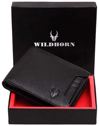 WildHorn® RFID Genuine Leather Wallet
