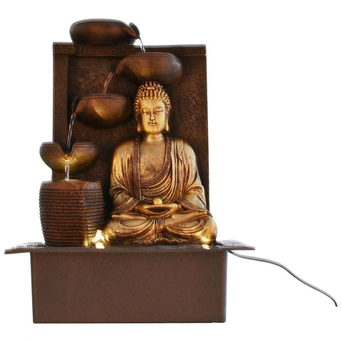 Buddha Table Top Water Fountain
