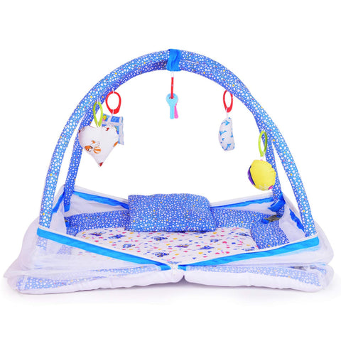 Baby Kick and Play Gym with Mosquito Net