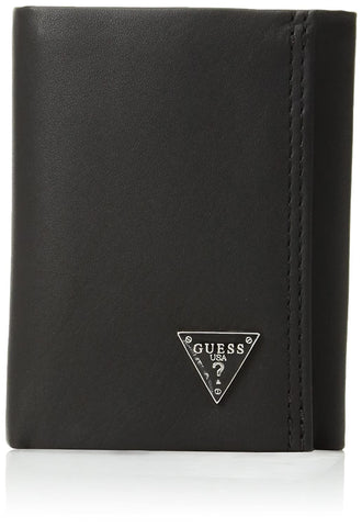 Guess Men's Credit Card Trifold, Black