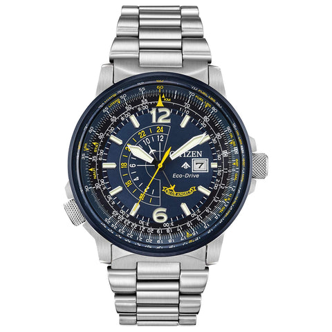 Citizen Watches Eco-Drive Analogue Silver-Tone Men's Watch