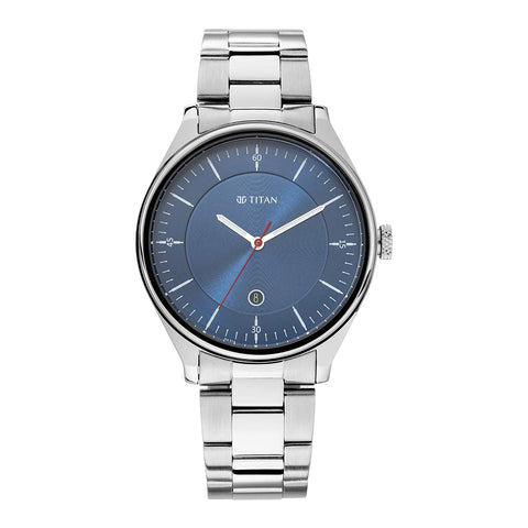 Titan Autumn-Winter 20 Analog Blue Dial Men's Watch