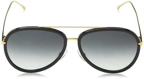 Fendi Women's Funky Angle Aviator Sunglasses