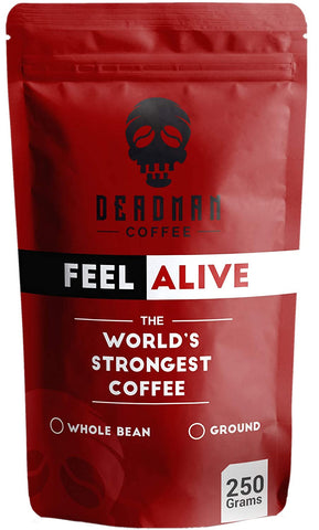 Deadman Coffee - Feel Alive | World's Strongest Coffee