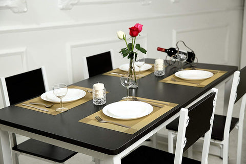 Heat-Resistant DiningTable Gold Mats