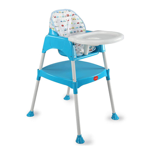 Convertible High Chair with 5 Point Safety Belts