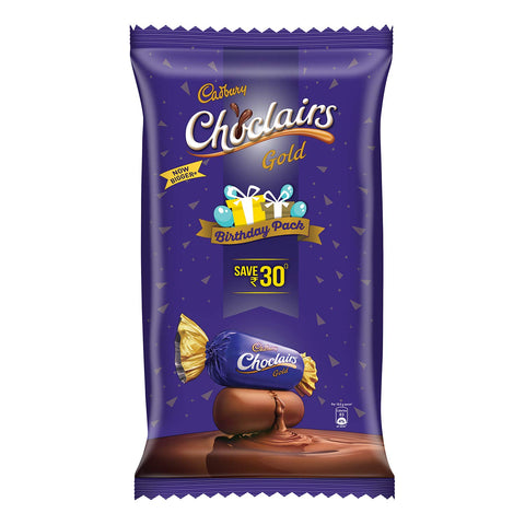 Cadbury Choclairs Gold Candies Birthday Pack