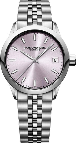 Raymond Weil Analog Pink Dial Women's Watch