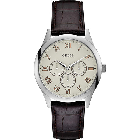 Guess Watson Analog White Dial Men's Watch