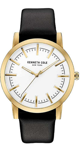 Kenneth Cole Analog White Dial Men's Watch