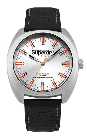 Superdry Infantry Analog Silver Dial Men's Watch