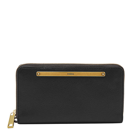 Fossil Liza Black Women's Wallet