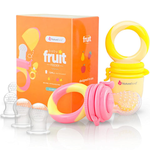 Fruit Nibbler Pacifier Teether
