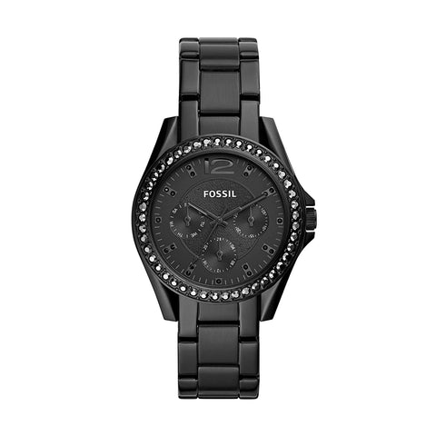 Fossil Riley Analog Black Dial Women's Watch