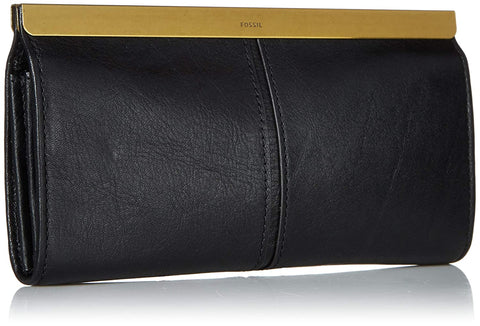 Fossil Kayla Black Women's Wallet