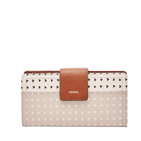 Fossil Logan White Women's Wallet