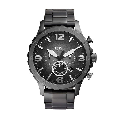 Fossil Nate Chronograph Grey Dial Men's Watch