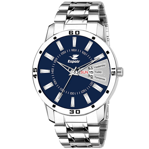 Espior Men's Analog Blue Dial Watch