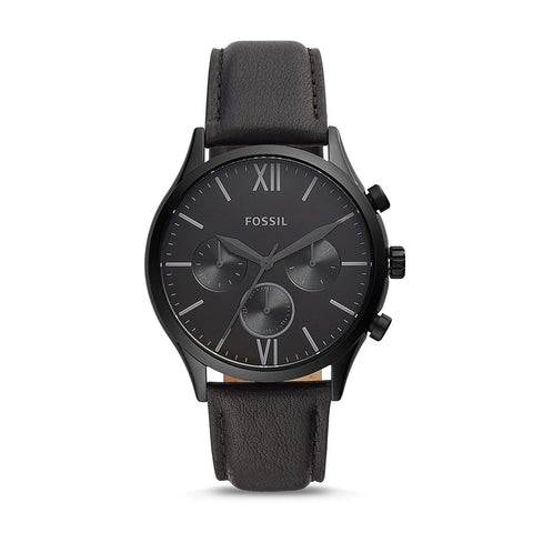 Fossil Fenmore Multifunction Black Dial Men's Watch