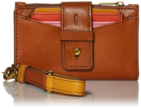 Fossil WILLA Cognac Women's Wallet