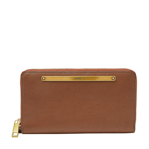 Fossil Liza Brown Women's Wallet