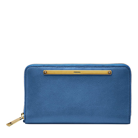 Fossil Liza Blue Women's Wallet