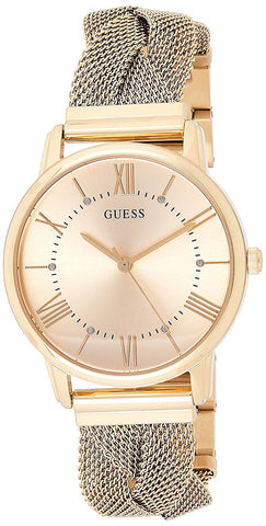 Guess Analog Champagne Dial Women's Watch