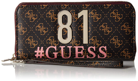GUESS Mia Large Zip Around Wallet