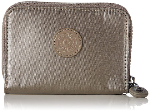 Kipling Wallet - ABRA Metallic Pewter