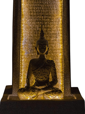 Lord Buddha Water Fountain Home Decor