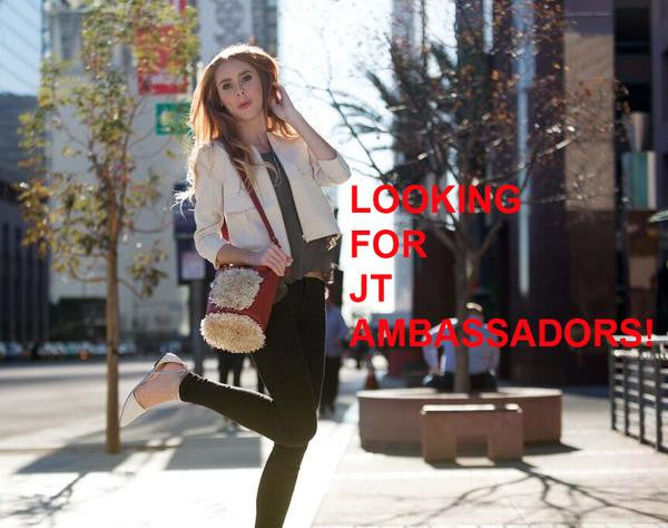 Wanted: JT Carpet Bag Brand Ambassador!