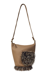STACY Pocket Shoulder Bag (Caramel Brown)