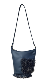 STACY Pocket Shoulder Bag (Aegean Blue)