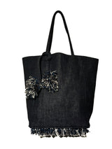 SHAYLA Tote, Oversized (Twilight Blue)