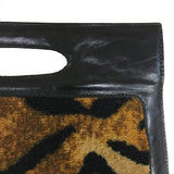 Open Handle Purse, Tiger Neo Texture