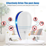 Ultrasonic Pest Repeller Mosquito Killer Electronic Repellent Anti Rodent Mice Cockroach Rat Spider Insect