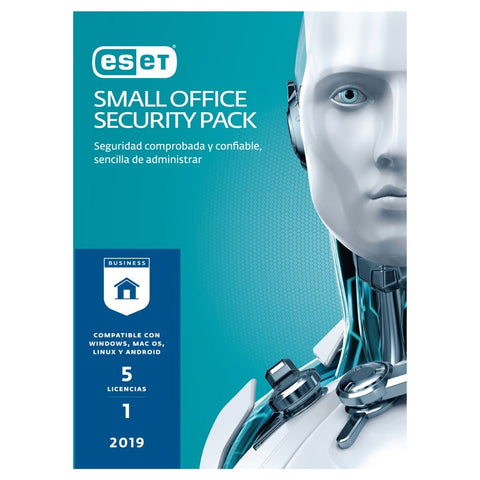 ESET SMALL OFFICE SECURITY PACK 5LIC V2019 1YR (SO519)