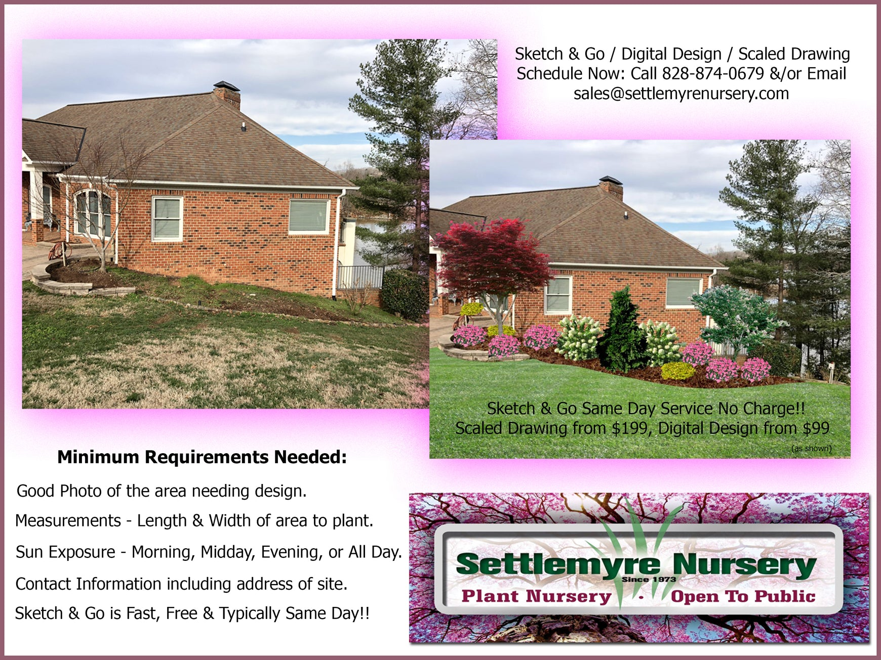 Landscaping Design Services from Settlemyre Nursery